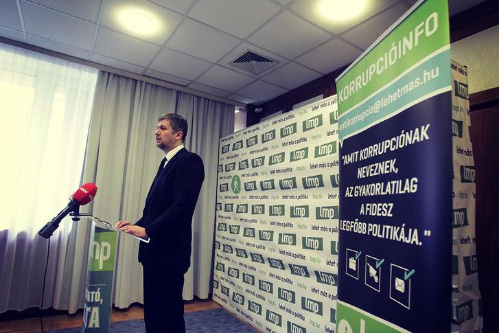 Hadházy Ákos Fotó: LMP sajtó